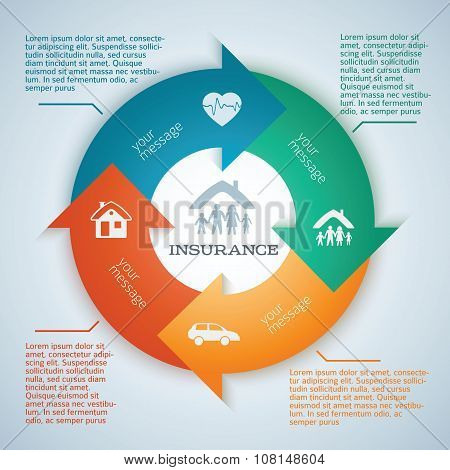 Insurance-background-page-flyer-ad-arrows-circle