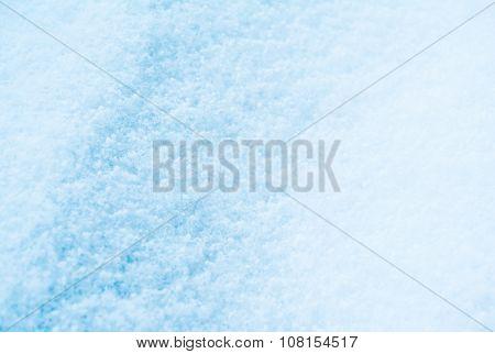 blue shine snow