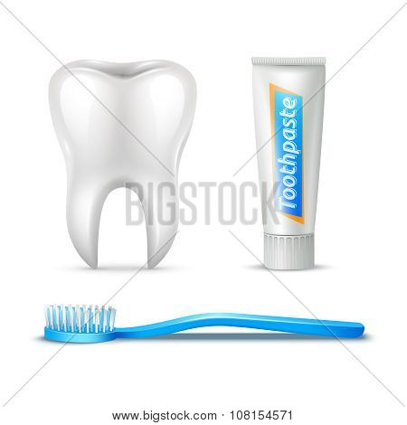 Tooth Brush And Paste