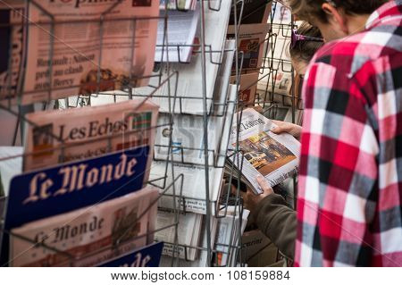 Front Covers Of International Newspaper