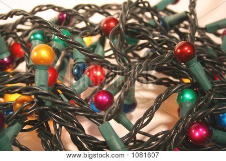 Tangled Mess Of Xmas Lights