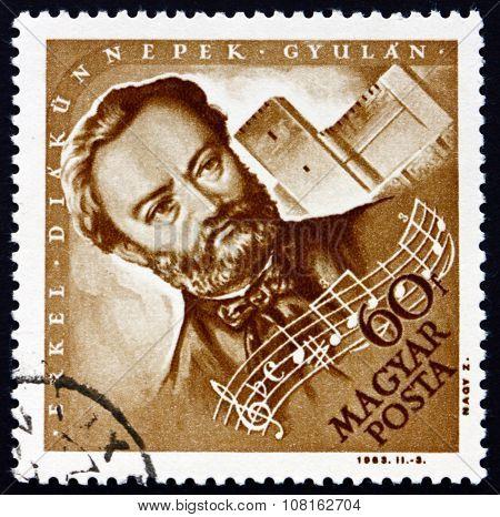 Postage Stamp Hungary 1963 Ferenc Erkel, Composer