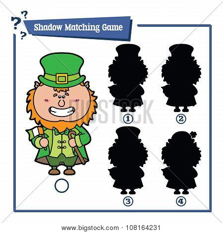 funny shadow Leprechaun game.