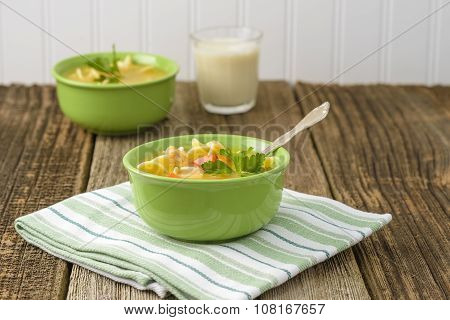 Chicken Soup Bowl