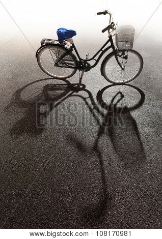 Bike With Bright Background