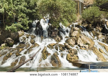 Waterfall in Iraq