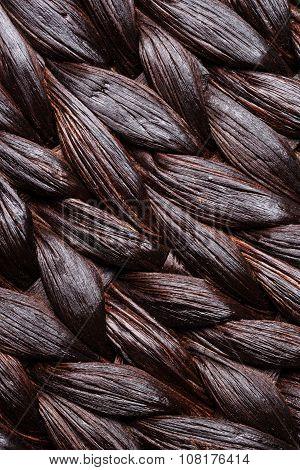 Wicker Woven Pattern Background