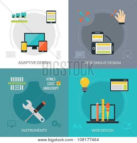 Adaptive Responsive Web Design