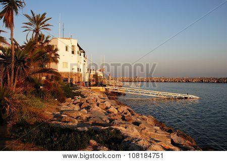 Puerto Banus waterfront.