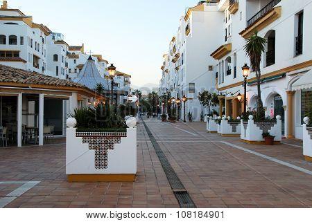 Apartment complex, Puerto Banus.