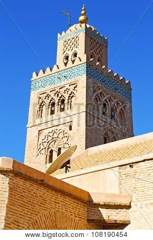 Maroc Africa Minaret   The Satellite Dish