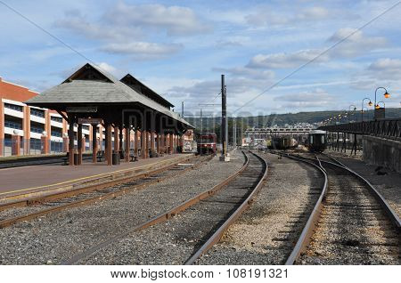 Electric City Trolley Museum in Scranton, Pennsylvania