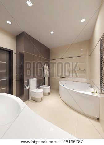 Bathroom Constructivism Style