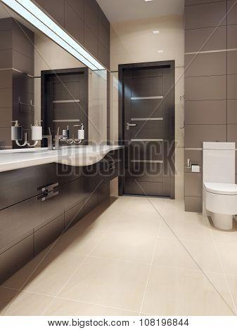 Bathroom In Contemporary Style
