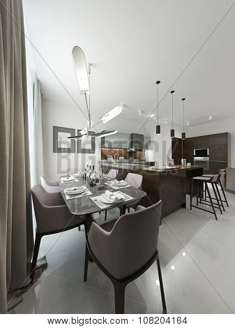 Dining Room Contemporary Design