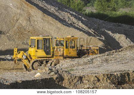 Two Bulldozers