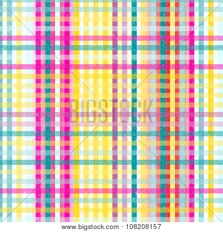 Colored Intersecting Lines Grunge Effect Vector Background Wallpaper
