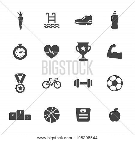 Sport Solid Icons