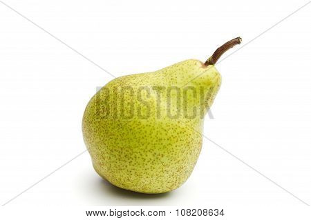 Williams Sort Pear Isolated Against White Background