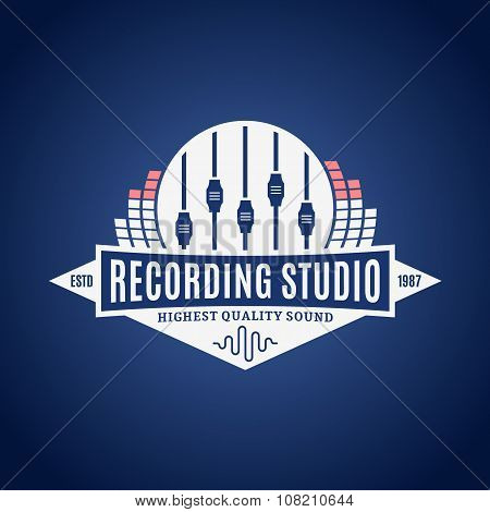 Recording Studio Label