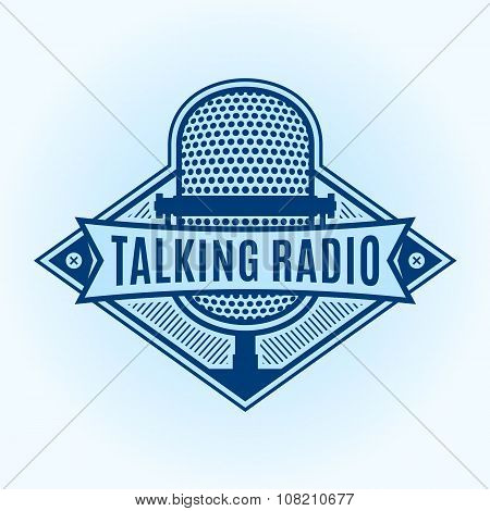 Talking Radio Label