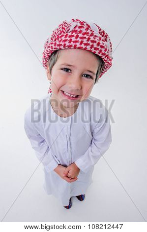 Cute arabic boy.