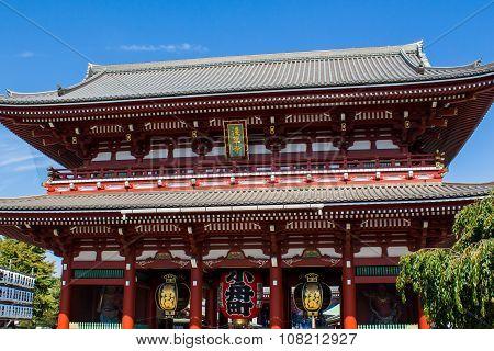 Senso-ji Temple In Tokyo, Japan