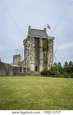 Chateau De Saint-sauveur-le-vicomte,  Normandy, France,
