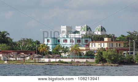 Feudal Building In Cuba