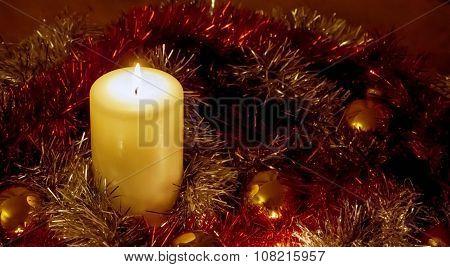 Christmas Candle, Panorama.