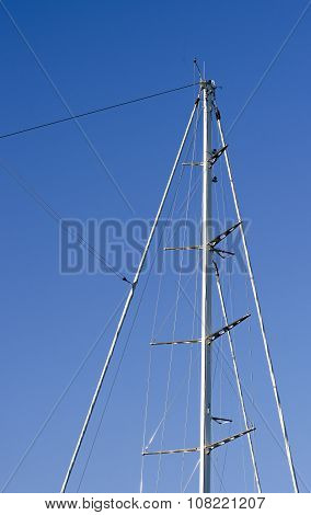 Detail Of A Mast