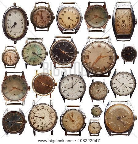 Set Of Old Watches