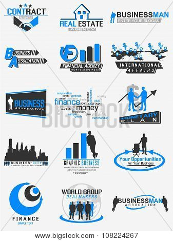 Icon Business For Web Blue