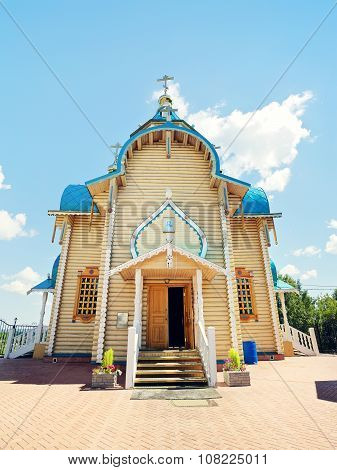 Russian Wooden Church