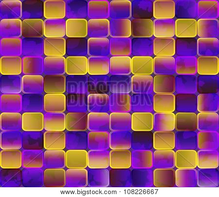 Abstract Background. Gradient Transparent Tiles With Grunge Effect.eps