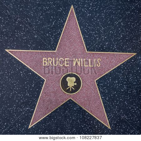 Bruce Willis Star
