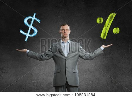 Income growth concept