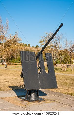 Ship anti-aircraft gun