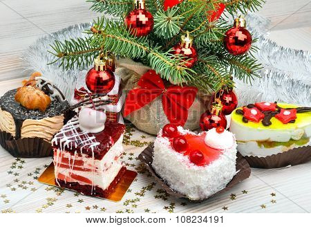 Christmas Delicious Cakes