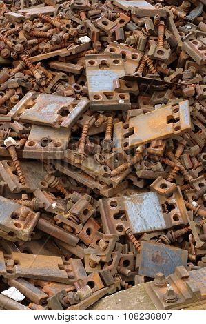 railway bolts and washers