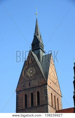 Market Church (marktkirche) In Hannover, Germany