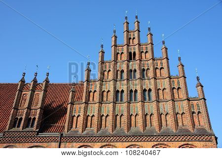 Old Town Hall (altes Rathaus) In Hannover, Germany