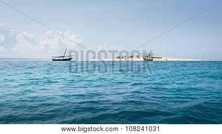 Atoll Near Zanzibar