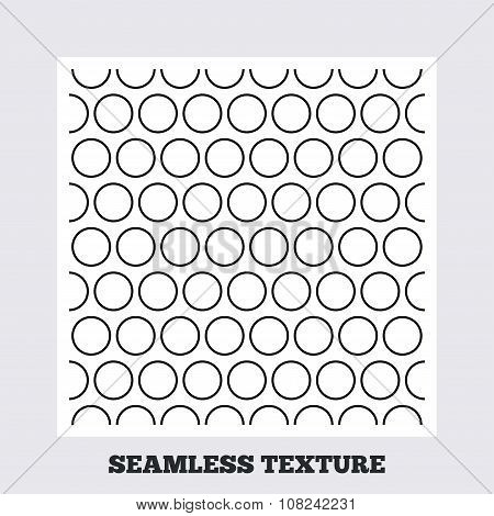 Circles stripped geometric seamless pattern.
