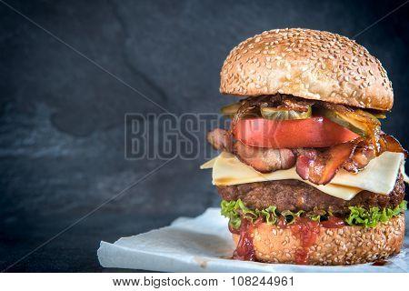 Large Beef Burger