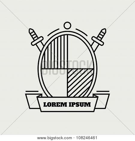 Heraldic icon.