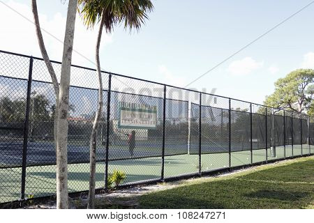 Holiday Park Jimmy Evert Tennis Center