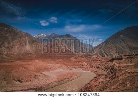 Hunza river tributary