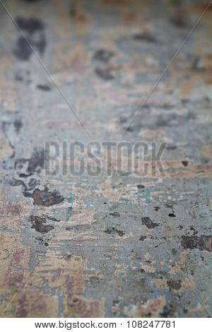 Shallow Focus Textured Grungy Tabletop Food Background B