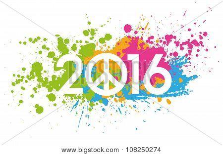 2016 Greeting Symbol